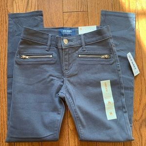 NWT Old Navy gray size 8 jeggings